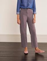 Rothes Seam Detail Trousers in Grey