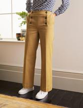 Runswick Sailor Trousers in Brown