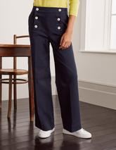 Runswick Sailor Trousers in Navy