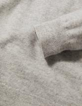 Cashmere Crew Neck Jumper in Grey