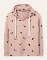 Jersey Lounge Hoodie in Pink