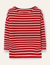 Rosie Jersey Top in Red