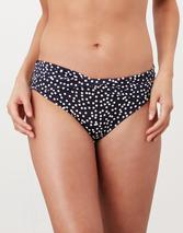 Belle Bikini Bottoms in Navy