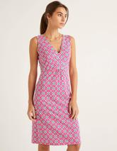 Eden Jersey Dress in Pink