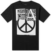 Fucking Awesome Peace Tee in Black