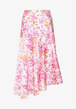SKIRT - A-line skirt in Pink