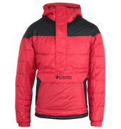 Lodge Pullover Jacket - Red in Red