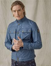 Racemaster Waxed Cotton Jacket in Blue