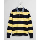Original Barstripe Heavy Rugby Shirt in Yellow and Black