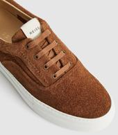 Wimbledon Suede Trainers in Brown