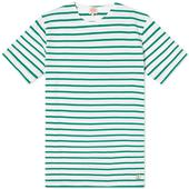 Armor-Lux 73842 Mariniere Tee in White