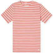 Armor-Lux 73842 Mariniere Tee in Pink