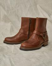 HARD RIDER LEATHER BOOT in Brown