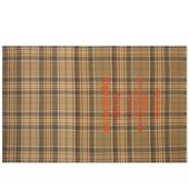 Acne Studios Cassiar Tartan Scarf in Brown