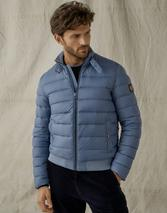 Circuit Puffer Jacket in Blue