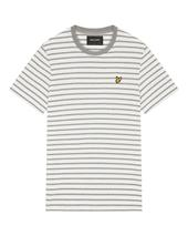 Lyle & Scott Men's Breton T-Shirt in Grey