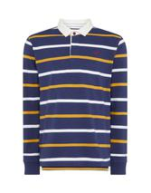 Crew Rugby Shirt in Navy