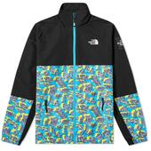 The North Face Black Box Track Top in Black and Blue