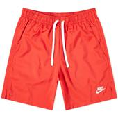 Nike Retro Woven Short in Red