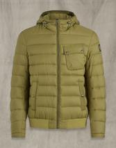 Streamline Puffer Jacket in Green