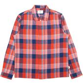 Patch Shirt in Red
