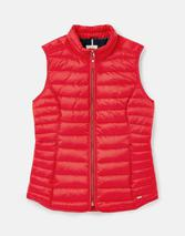 Furlton Padded Gilet with Recycled Wadding in Red