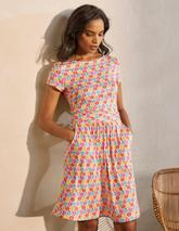 Amelie Jersey Dress in Multicoloured
