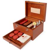 TURMS Wooden Care Case in Brown